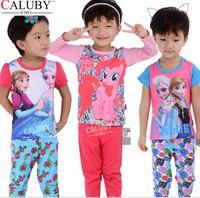 Cheap Frozen summer pajamas Best childrens pajamas