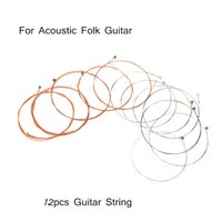 Wholesale Alice String Guitar String Stainless Steel Core Coated Copper Alloy Design for Acoustic Folk Guitar Top Quality