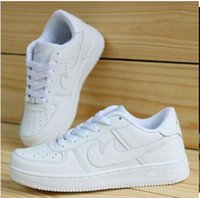 fast shipping shoes - Drop shipping NEW Classical Men Women white shoes One Famous Trainers Forces high Low running shoes Air Fast Shipping