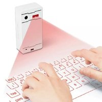 Wholesale Ultra Portable Wireless Bluetooth Laser Projection Virtual Keyboard for Apple iPhone iPad Samsung LG HTC Surface Phone Tablet