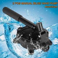 Wholesale New Manual Hand Bilge Pump Aluminium for Confined Spaces Suitable for Pumping Bilge Water Salt Water Diesel Transfer
