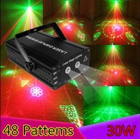 Projecteur projecteur laser party Prix-Vente en gros de gros projecteur laser neuf Projecteur à distance DJ Dance Bar Xmas Party Disco Éclairage Éclairage éclairage Light Lights Show