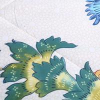 Wholesale cotton peacock comforter duvet summer seasons flower peafowl Bohemia style beautiful goodliness quilt comfortable