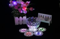 bar style tables - Wedding Decorations LED colour light bottle cup paste party or bar Supplies new style