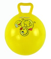 balloons fitness - Toys Gifts Activity Amusement Toys Haha racket handle Bounce inflatable plastic ball fitness ball Infant Toys Balloon