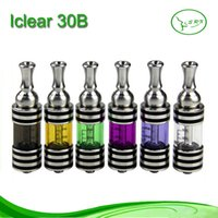Cheap Smovapor Original Iclear 30B Clearomizers Rotatable Drip Tips Dual Coil Atomizers Iclear30B VS iclear30 Iclear 30S for iTaste 134 MVP