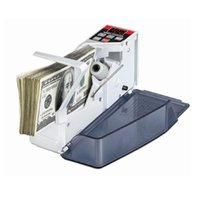 Wholesale Portable Mini Handy Money Counter Euro Currency Cash Bill Counting Machine AC100 V Financial Equipment Bill Counters
