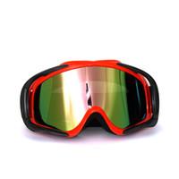 atv goggles adult - Adult Motocross ATV Off Road Eyewear Ski Goggles Colored Lens Red Frame