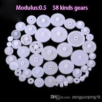 Wholesale 2 packs styles Plastic Gears All The Module Robot Parts for DIY Necessary All consistent with each other