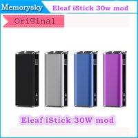 Wholesale 100 original Eleaf iStick W Mod mah Battery With OLED Screen Ismoka VV VW Mod New Arrival