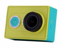 Wholesale 2015 XiaoMi Yi Action Camera Original MP XiaoYi Sports Camera Basic and Travel XiaoMi Camera SJ4000 Style XiaoMi Yi Camera
