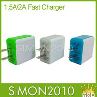 Cheap Dual usb wall charger Best 1.5A 2.0A fast charger