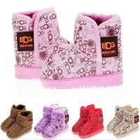 Wholesale Fashion baby snow boots children s warm shoes kids boy girl winter boots soft slip resistant outsole JIA702