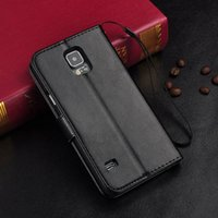 photo frame stand - For Galaxy S5 Luxury Vintage Retro Flip Stand Wallet Leather Case With Photo Frame ID Card Holder Cover For Samsung I9600