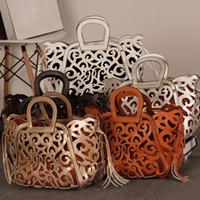 Wholesale High Quality Women Bags Handbags Women Famous Brands Messenger Bags Hollow Out Tote Tassel Women Shoulder Bag ZB5006 salebags