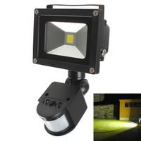 Compra Infrarrojos llevó la luz de inundación-20W PIR Sensor de movimiento infrarrojo del cuerpo LED de luz de inundación AC 85-265V impermeable lámpara de paisaje al aire libre LEG_846