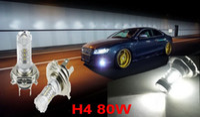 Wholesale 1X Super White CREE high power Lights Led Headlamps H4 HB2 CREE W LED Projector Hi Lo Beam Headlamp bulb Conversion