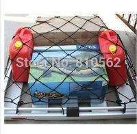 aqua silicon - Car Mesh Cargo Net Holder Trunk Auto Elastic Storage Car luggage nets Hook for focus golf Polo Clio IV Aqua alto Aqua