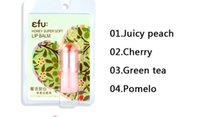 berry protect - Special offer Efu Honey Super Soft Lip Balm nutritious lips Cherry Berry lipstick To protect the lip g