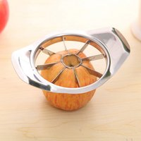 apple processing - 1PCS Stainless Steel Vegetable Fruit Apple Pear Cutter Slicer Processing Kitchen Utensil Tool New