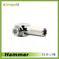 Cheap Hammer Mod gift Kits E cig pipe box Mod E Cigarettes working with 18350 18650 18500battery CE4 CE5 VIVI Protank vapor mod atomizers vape Pen