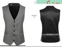 Wholesale fasion New new Men Vest Han edition leisure Coat Vests