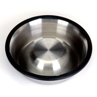 automatic pet feeder stainless steel - Botique Stainless steel skid pet bowl A2