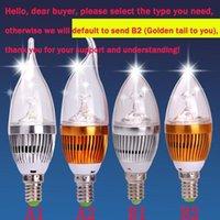 Wholesale E14 E27 W High Power Led Candle bulb led lamps lighting chandelier bulbs light