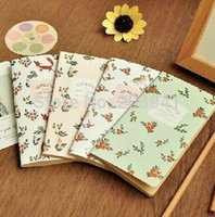 best memo - Best selling Vintage beautiful flower series notebook notepad New stationery freeshipping dandys