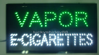 Wholesale Hot sale custom neon signs led neon vapor e cigarettes sign led vapor e cigarettes sign board indoor