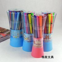 Wholesale Can be washed Pens Painting colors colors colors colors painting brush DIY graffiti pen elementary school supplies