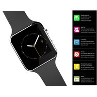 arc health - Smart watch X6 Arc Clock Smartwatch Support SIM TF card Bluetooth Watch For Android ios MP camera Health Tracker