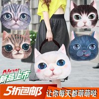 Wholesale Ms Messenger bag handbag shoulder bag canvas female summer kitty meow star people creative personality creative mini package