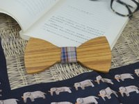 railroad ties - Bowties Style Cheapest Bow Tie Piece Bow Tie Wooden Bow Ties ties for wedding Wood Railroad ties Personality Butterfly Gentleman ties