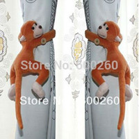 Wholesale Window Curtain Tieback Belt Hook Long tail Monkey Curtain Buckle Accessory Belt furniture And Home Decor order lt no