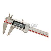 best vernier caliper - Best Quality Lcd Electronic Digital Caliper Vernier Micrometer MM Digital Caliper Steel V Lithium Electricity