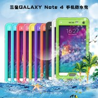 Wholesale Redpepper Case Waterproof case for samsung Galaxy note Waterproof Snow Dirt Shockproof Cases with Retail Package TOP Quality