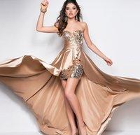 short front long back dresses - Sex Costumes Sequins Off Shoulder Sweetheart Evening Dress Long Front Short Back Celebrity Party Dresses