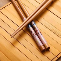 bamboo happiness - Favorite Pairs Pack Set Pairs Chinese Marriage Happiness Character Bamboo Cutlery Chopsticks Chinese Characteristics
