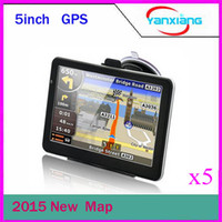 Wholesale Newest inch Car GPS Navigation with FM Video Music Game E BOOK RAM GB Memory Vehicle GPS Navigator ZY DH