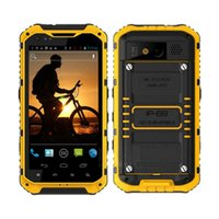 Wholesale A9 A9 Plus IPS GSM G Quad Core Android OS G Dual Sim GPS WiFi IP68 NFC Outdoor Rugged Mobile Phone