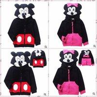 2014 2 colors girls good quality coat kids boys hot selling fashion cute cartoon thick fleeces childrens warm hoodies jacket TOPB454 20PCS