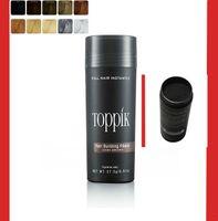 best hair concealer - Best g Toppik Hair Fiber Thinning Hair Loss Concealer Instant Hair Fiber Keratin Hair Powder Refill colors