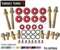 Black, Blue, Gold, Purple valve - Tansky Sk2 B Series Low Profile Valve Cover Hardware Fit for honda Civic TK DP004 Have in stock H Q