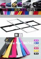 Wholesale whlesale Car license plate frame License plate holder pair