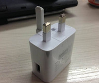 Wholesale UK plug USB Wall Charger V A Travel AC Wall Charger Adapter for Samsung galaxy note S3 S4 N9000 N7000 I9220 N7100 S5 I9600 CQ