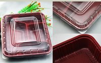 bamboo fast food - 500pcs disposable lunch box fast food box