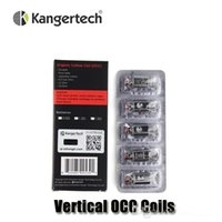 Wholesale Authentic Kangertech Upgraded Vertical OCC Coils ohm Organic Cotton Coil For Kanger Sutank Atomizers Subox Mini Kit