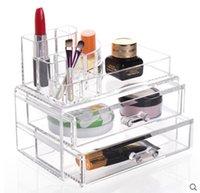 acrylic shoe box - cosmetic organizer jewelry acrylic makeup case drawers lipstick holder storage box clear acrylic shoe box