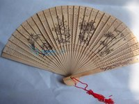 Bamboo chinese fans - Wedding Fans Bamboo Fans Handmade Chinese Sandalwood Fans Ladies Hand Fans Advertising and Promotional Folding Fans Bridal Accessories